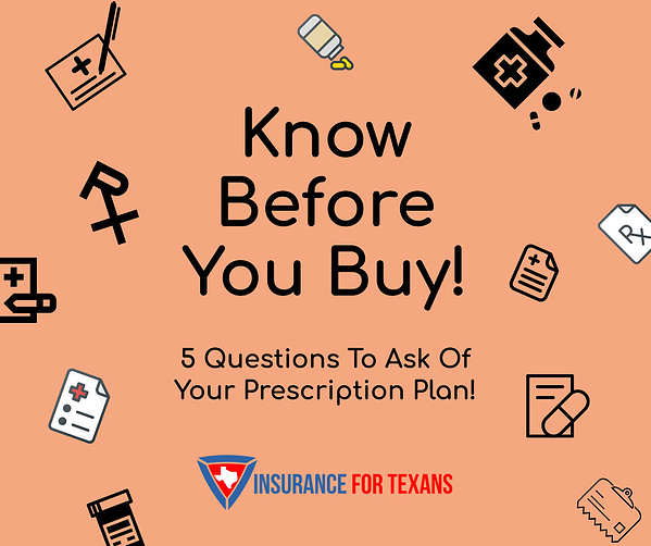 5 Questions To Ask Of Your Prescription Plans