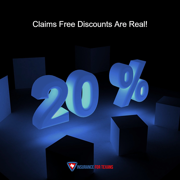 Claims Free Discounts Are Real