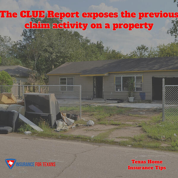 Clue Report Exposes Previous Claim Activity