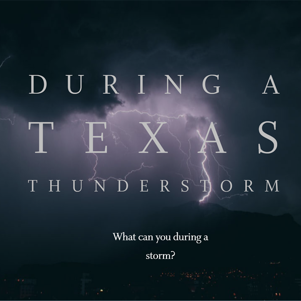 During A Texas Thunderstorm