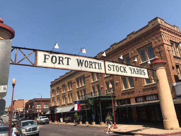 Ft Worth Stockyards Sign