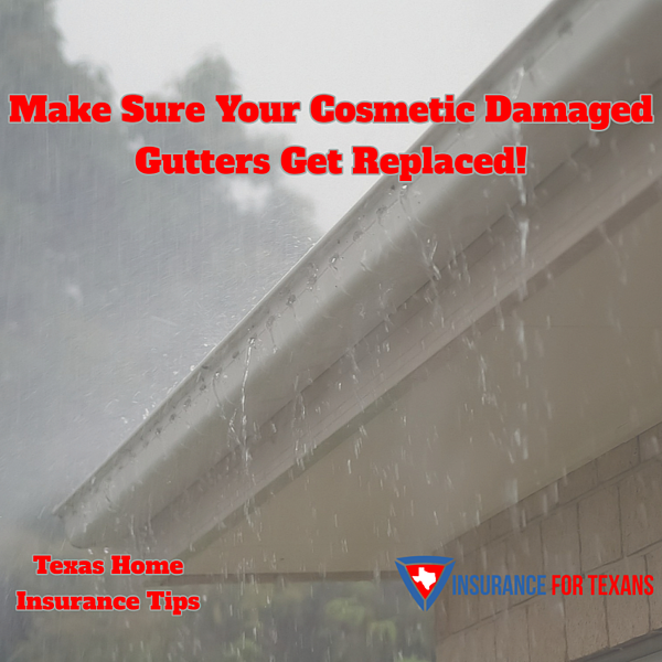 Make Sure Your Cosmetic Damaged Gutters Get Replaced