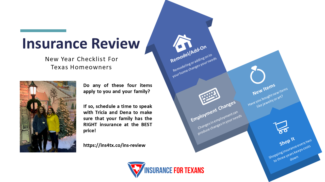 New Year Insurance Review With Insurance For Texans