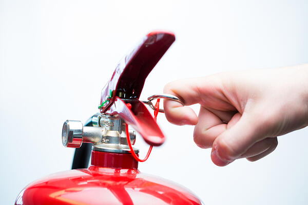 A fire extinguisher helps, but doesn't save your home