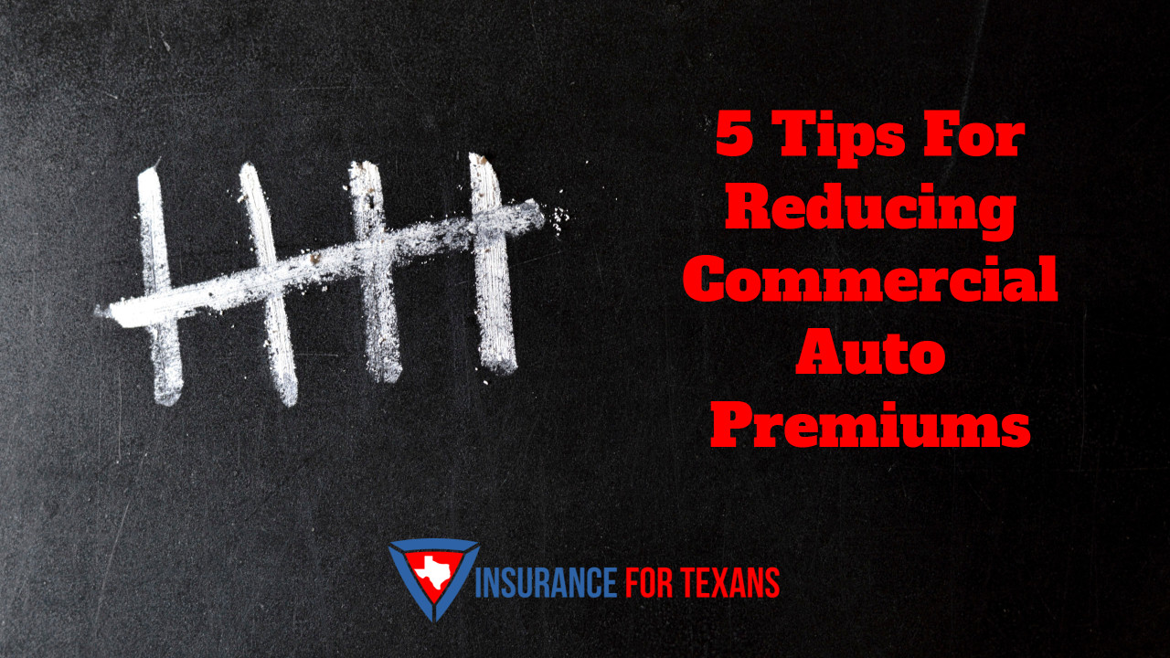 5 Tips For Reducing Commercial Auto Premiums
