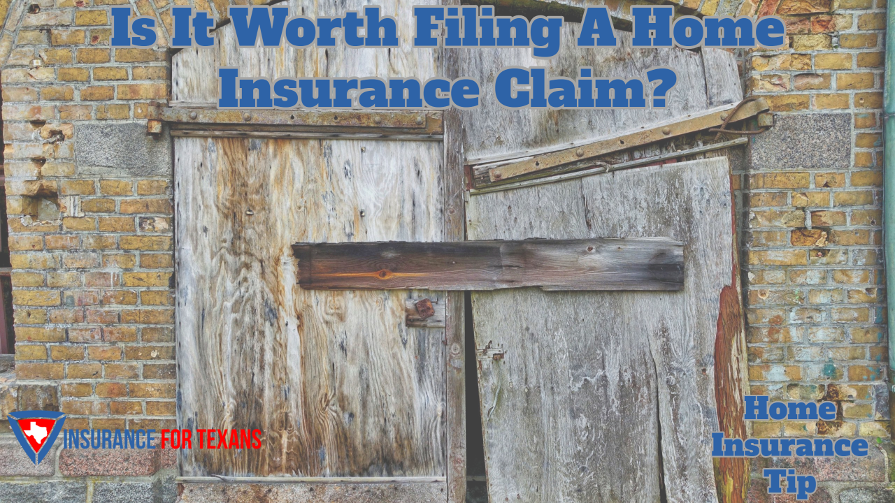 Is It Worth Filing A Home Insurance Claim