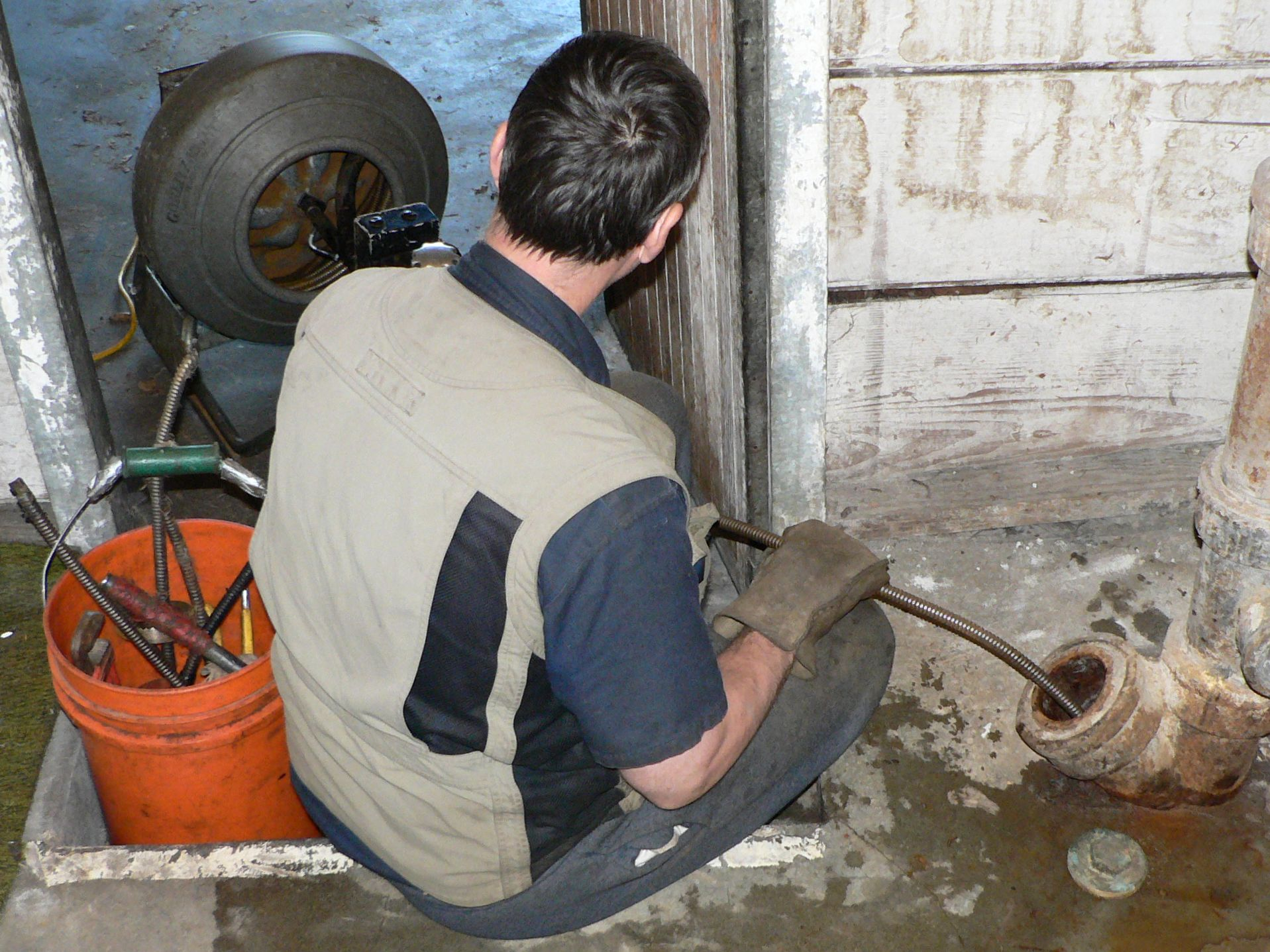 Plumber Sewer Line