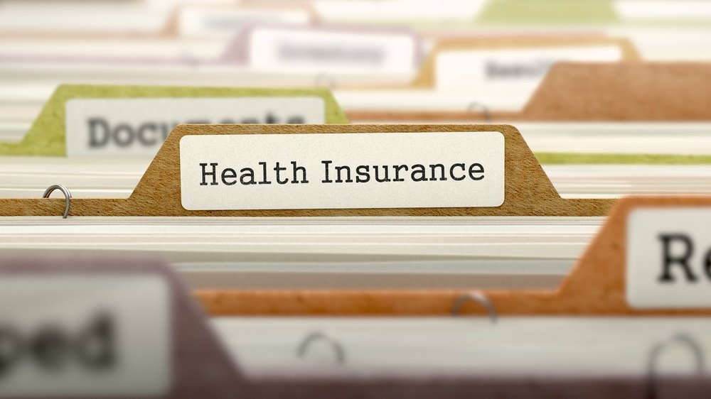 Health Insurance - Folder Register Name in Directory. Colored, Blurred Image. Closeup View.-2