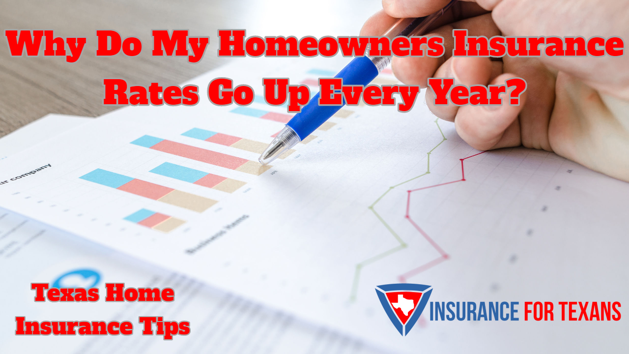 Why Do My Homeowners Insurance Rates Go Up Every Year