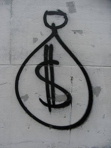 dollar graffiti